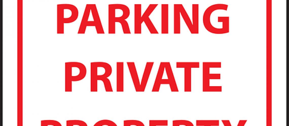 שלט פוליפרופילן חניה פרטית רכב זר ייגרר